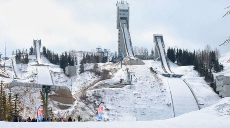 Calgary Ski Jumps Remain Open