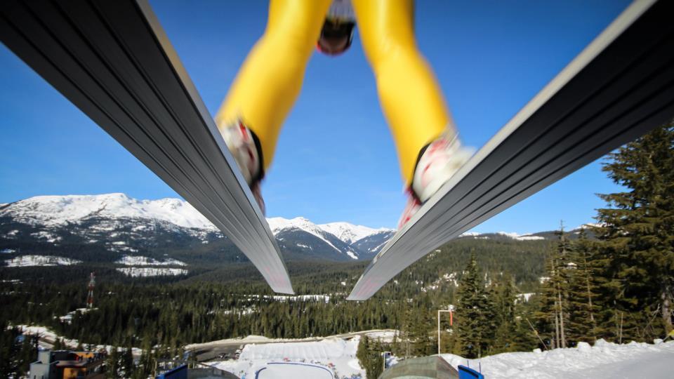 Skier-jump