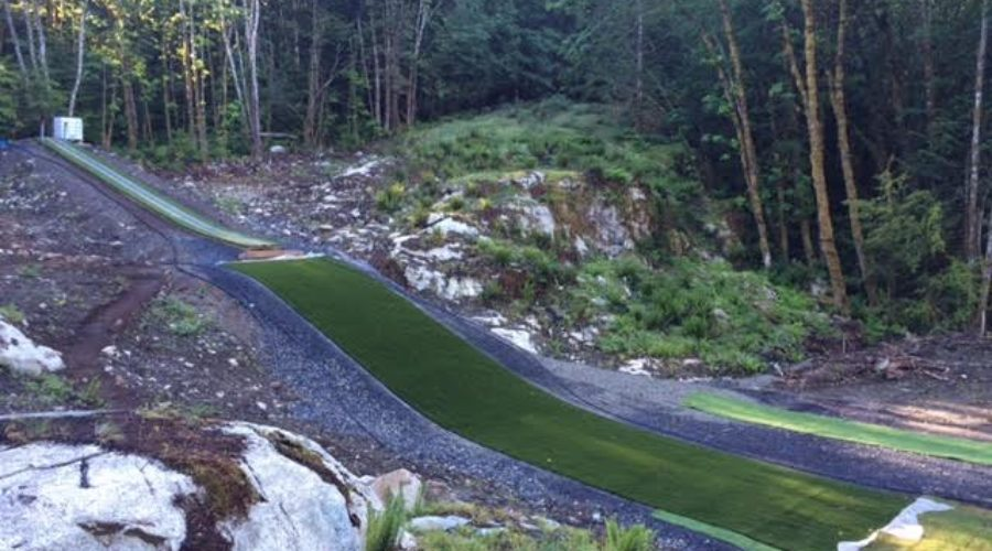 New Summer Ski Jumping Development Programs and Jumps in Squamish BC